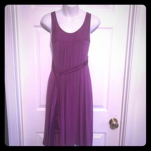 Just Be Purple Just be open back jersey dress